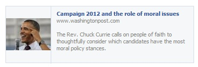 Washington Post - Rev. Chuck Currie